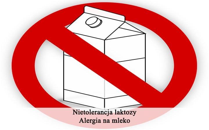 Nietolerancja Laktozy I Alergia Na Bialko Mleka Krowiego Czyli